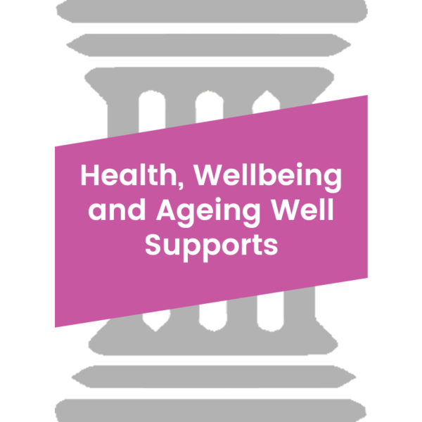 Health, Wellbeing and Ageing Well Supports Pillar