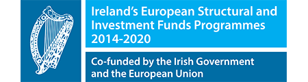 Ireland's European Structural and Investment Funds Programmes 2014-2020. Co-funded by the Irish Government and the European Union.